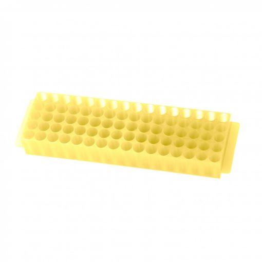 80-well-micro-tube-rack-bioplas-yellow