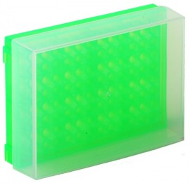 fluorescent-green-pcr-rack-with-lid